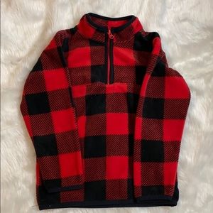 Carter's buffalo plaid pullover
